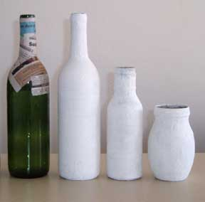 Bottles to decorate