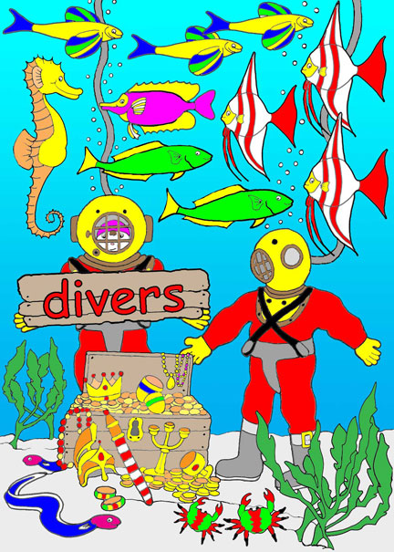 Divers Find Treasure