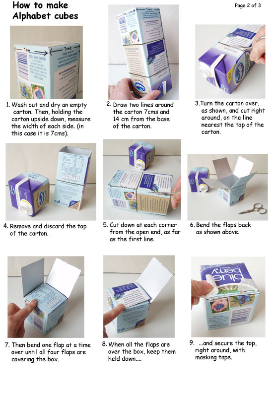 How to make alpha boxes page 2