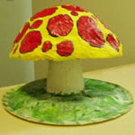 Easy to make toadstool